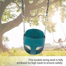 eva full bucket assembled baby kids toddler swing seat outdoor play toys