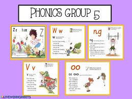 Welcome to esl printables, the website where english language teachers exchange resources: Phonics Group 5 Activity