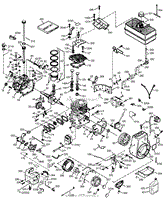tecumseh hm100 159493v parts diagrams  at Wiring Diagram For A Hm80 100 Low Oil Shutdown Switch