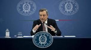 Conferenza stampa di Mario Draghi