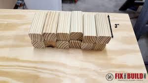 diy wooden doormat 2t