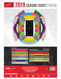 Saints Season Tickets Price Chart Buffalo Bills Non Club Renewal Buffalo Bills