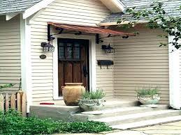 front porch awning s door diy design metal awnings