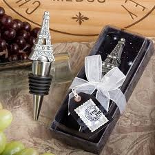 144 from paris with love eiffel tower wine bottle stoppers wedding favors