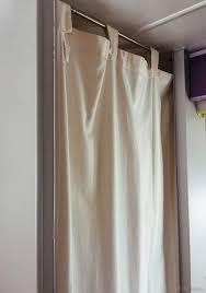 shower curtain rv diy rod
