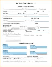 Patient Registration Form 24 Images Of Patient Registration Form Template Excel Leseriail 8