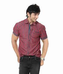 Half Shirt Design Image Zorro Designer Shirt Half Sleeve Stripe Shirt Cotton