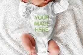 Baby Clothes Mockup Mediamodifier Free Online Mockup Generator