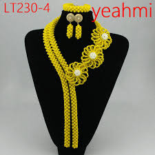 <b>2019</b> 2018 Coral Bead Sets Jewelry <b>Latest Design</b> Nigerian <b>Beads</b> ...