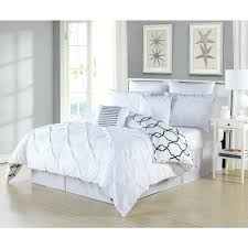 pintuck bedding comforter king west elm grey