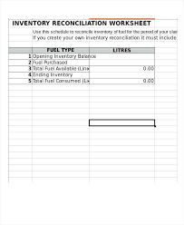 inventory spreadsheet with pictures inventory reconciliation template