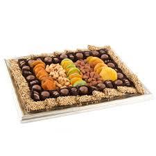 elegant chocolate dried fruit nut frame