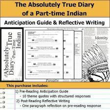 The Absolutely True Diary Of A PartTime Indian Unit By S J Brull Best The Absolutely True Diary Of A Part Time Indian Quotes