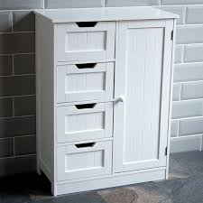 Home Discount Bathroom Cupboard Drawer Door Floor Standing
