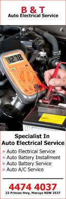 b t auto electrical service auto electrician services 22 b t auto electrical service promotion