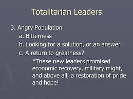 totalitarian leaders rise of totalitarian leaders a european struggle 1 economic