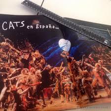Resultado de imagen de cats musical en madrid