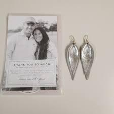 joanna gaines leather earrings m 5a412a9b5521beba1202d90b
