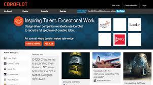 websites to get your architecture portfolio online dbi coroflot screenshot