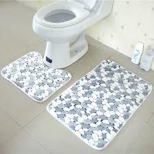 cobble stone bathroom bath mat non slip toilet mat rugs carpets living room soft floor door mats rug 45 50 50 80cm bathroom bath mats bath mat toilet mat