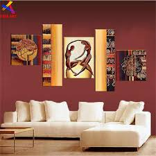 Small Picture Aliexpresscom Buy 5pcs Modern Abstract Oil Painting On Canvas
