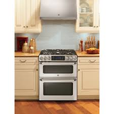 G Ft SlideIn Double Oven Gas Range With Lower Convection