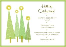 free christmas dinner invitations free holiday party invite clipart