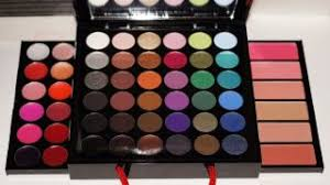 sephora collection um ping bag makeup palette eye shadow liner lip blush