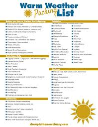 Packing For Vacation Lists Free Printable Cruise Packing List Cheap Is The New Classy
