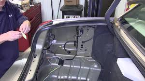 installation of a trailer wiring harness on a lincoln town installation of a trailer wiring harness on a 2006 lincoln town car etrailer com