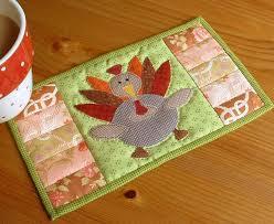 Thanksgiving Turkey Mug Rug   Thanksgiving turkey, Thanksgiving ... & Thanksgiving Turkey Mug Rug Adamdwight.com