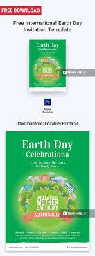 Free International Earth Day Invitation Invitation
