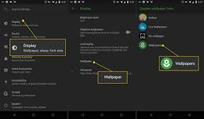 How to Change Your Android Wallpaper