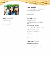 Sample Sorority Resume Interesting Get 48 Sorority Resume Template Beautify Your Word Free