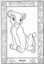 Small Picture 12 Images of Lion King Nala Cub Coloring Pages Nala Lion King