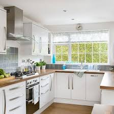 u shaped kitchen designs uk