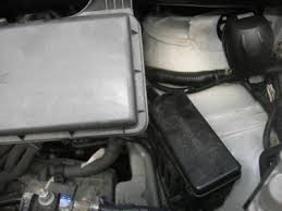 the eight seaters story toyota alphard location of fuses in the 3 0l model has the same smaller fuse box in front of the radiator