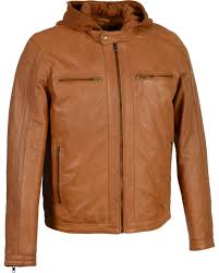 milwaukee leather men s zipper front leather jacket w removable hood big 3x