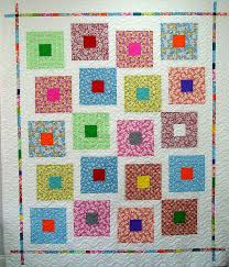 8 best Quilts - Cracker Quilt images on Pinterest | Crackers ... & Here's another Modern quilt, quilted with my new Modern String of Pearls  pattern available on Adamdwight.com