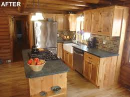 25 best rustic cabin kitchens ideas
