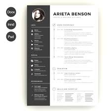 Modern Resume Template Free Extraordinary 48 Professional Modern Resume Template Free Download Customize