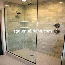 glass block shower wall within walls remodel cost com with plan
