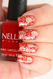 Best 25+ Red and gold nails ideas on Pinterest   Gold tip nails ...