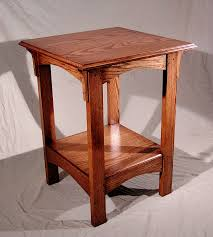 oak end tables. Custom End Table Oak Tables And Coffee Terry Stained Side