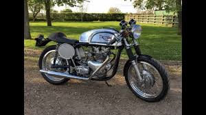 triton cafe racer 1960 500cc for sale youtube