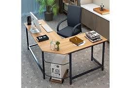 desk home office 2017. Tribesigns Modern L-Shaped Desk Corner Computer PC Latop Study Table Workstation Home Office 2017 TheZ8