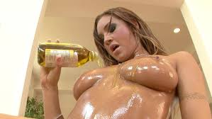 Amy Ried Pours Oil Over Hot Body For Titty Fucking Featuring.