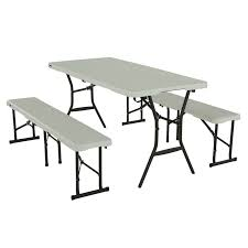 camping picnic table and bench set foldable portable outdoor garden chair seats