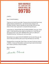 Free Printable Letter From Santa Word Template Free Blank Letter