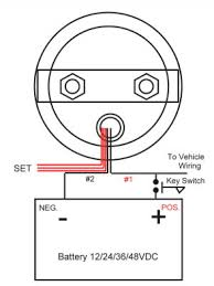 wiring diagram for 36 volt battery meter readingrat net how to wire a 24 volt trolling motor plug at 36 Volt Battery Wiring Diagram
